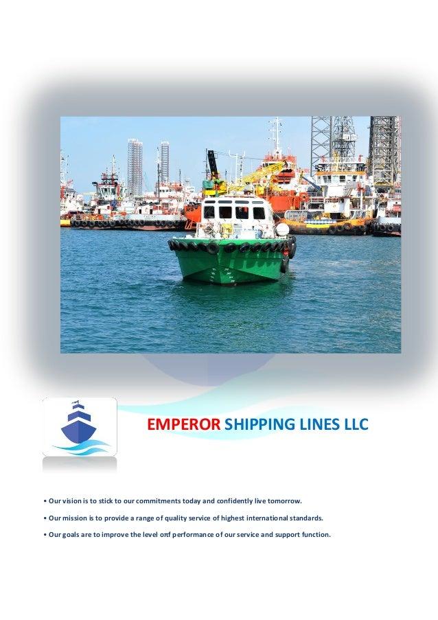 EMPEROR SHIPPING PROFILE 2016