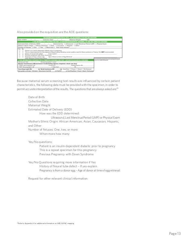 Quest Diagnostics -- Ask at Order Entry Insight 20140707