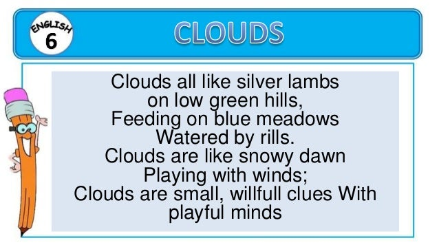 What are the figurative language used in the poem?