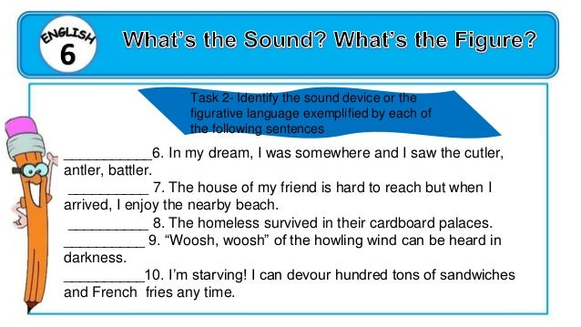ENGLISH 6 QUARTER 1 WEEK 1, DAY 3 Inferring meaning of idiomatic expression