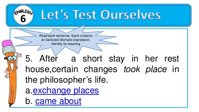 ENGLISH 6 QUARTER 1 WEEK 5, DAY 4 Compose clear and coherent sentences using appropriate grammatical structures: -Modals