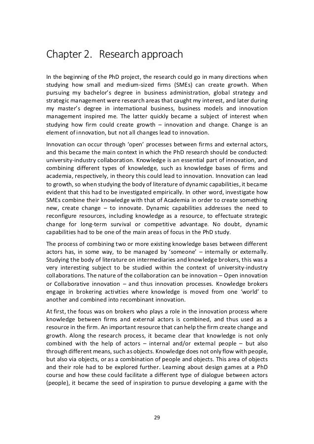 phd thesis smes A phd thesis submitted in fulfilment of the requirements for the degree of   repair of trust in exporting sme relationships in a less developed.