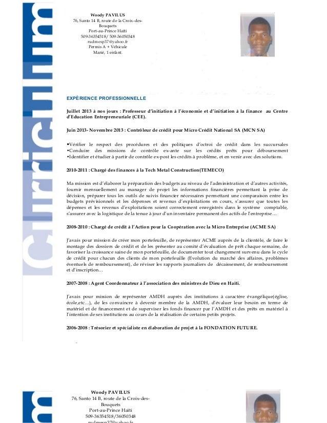 EXPÉRIENCE PROFESSIONNELLE Juillet 2013 à nos jours : Professeur d'initiation à l'économie et d'initiation à la finance au...