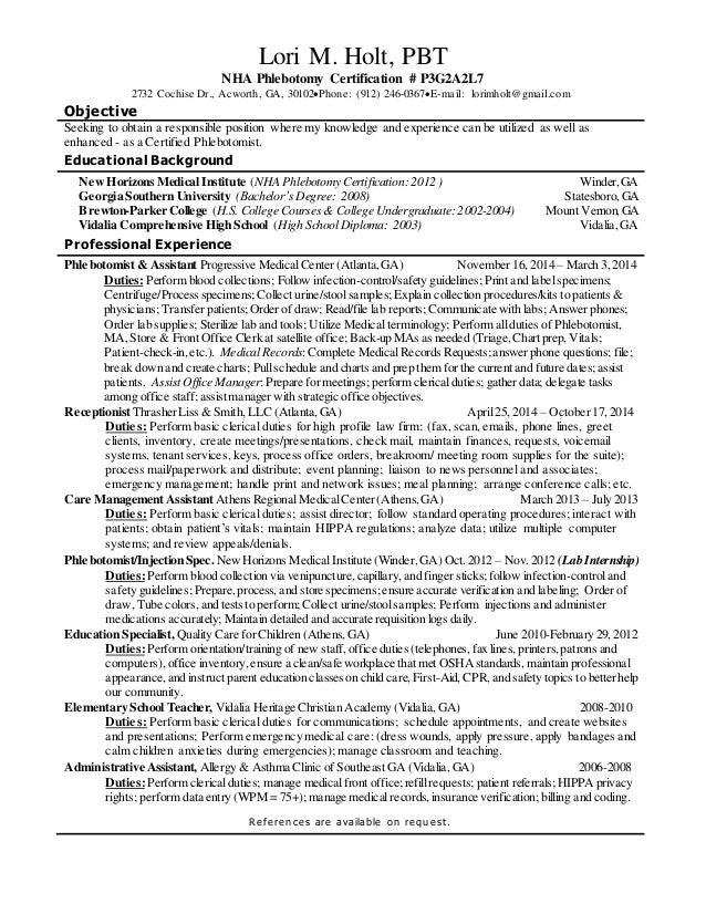 Fine Nha Phlebotomy Certification Motif Certificate Design Ideas
