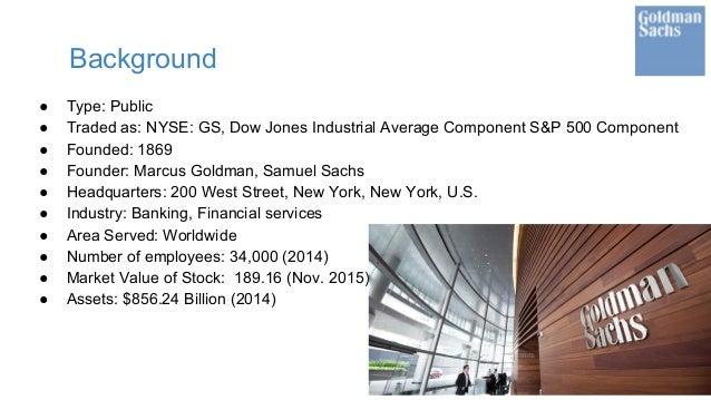 Vy Le_Goldman Sachs Stock Valuatio Project Slide 3