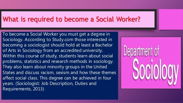 why want become social worker With complex social issues on the rise, the need for social work employment is expected to increase by 19 percent from 2012-2022, according to the bureau of labor statistics.
