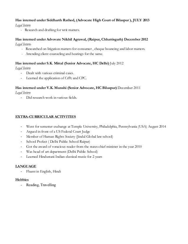 nidhi agrawal resume
