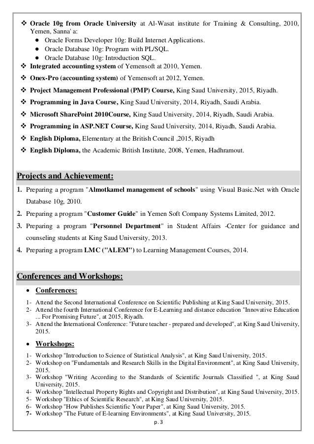 ADEL BARAYAN CV Slide 3
