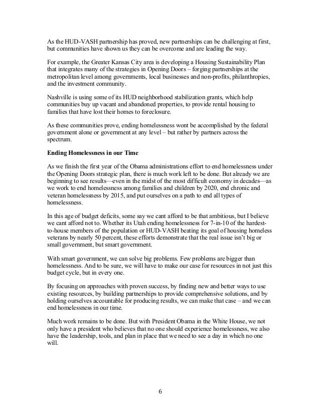 homelessness 2 essay Hud-129 strategies cover 11/7/05 3:56 pm page 2  strategies for preventing homelessness us department of housing and urban development.