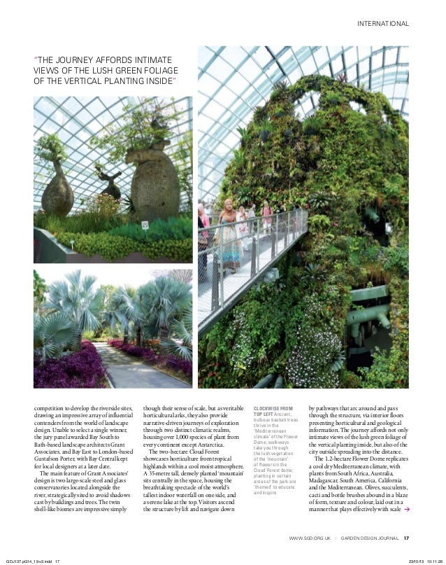 www.sgd.org.uk GARDEN DESIGN JOURNAL international 17 clockwise from top left Ancient, bulbous baobab trees thrive in the ...