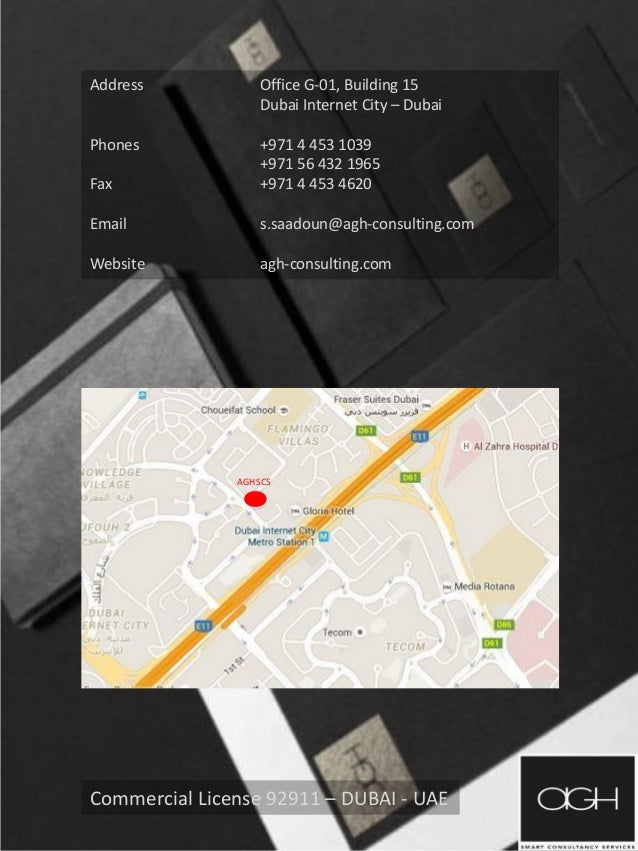 agh smart consultancy services