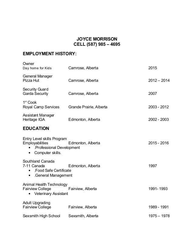 Amazing Job Target Resume Inside Target Resume