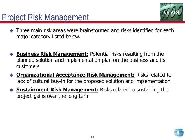 term paper on project risk management