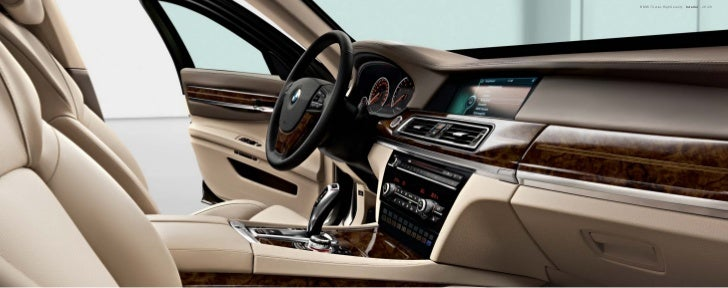 BMW 7 Series High Security Brochure