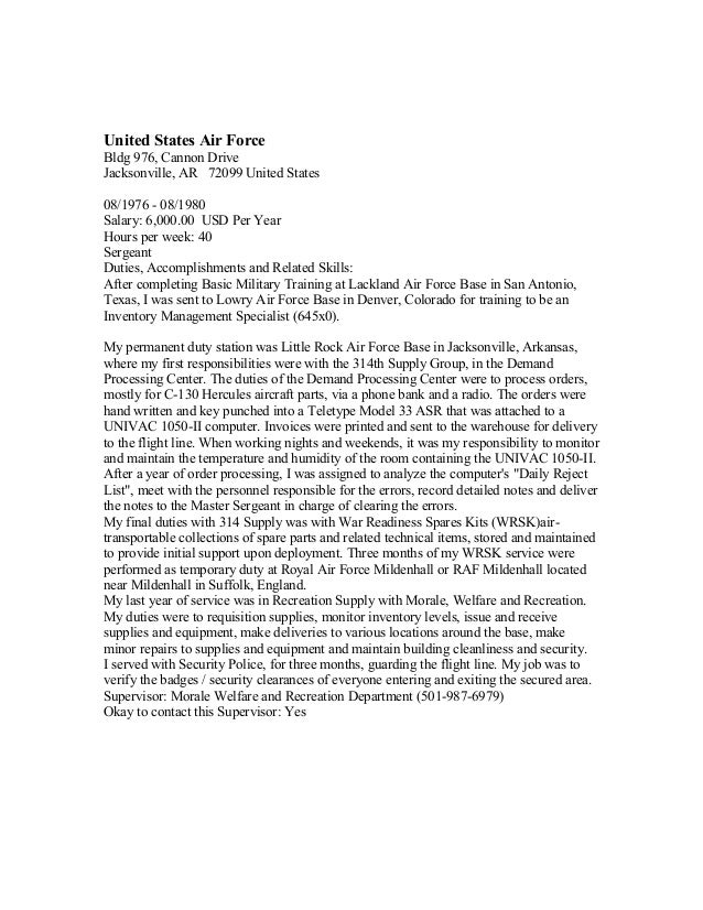 Thomas E Domer-Federal Resume-100915