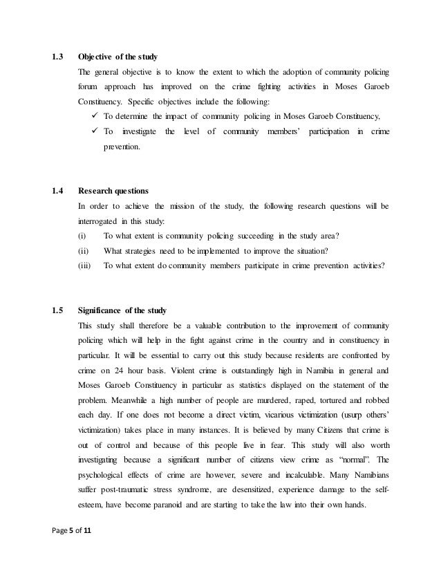 criminology research questions examples
