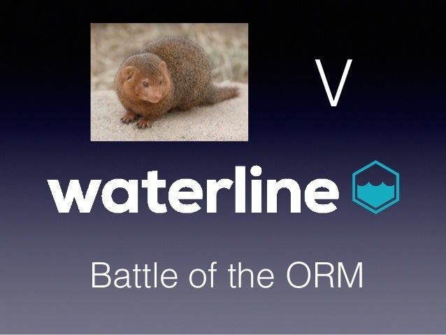 Battle of the ORM V