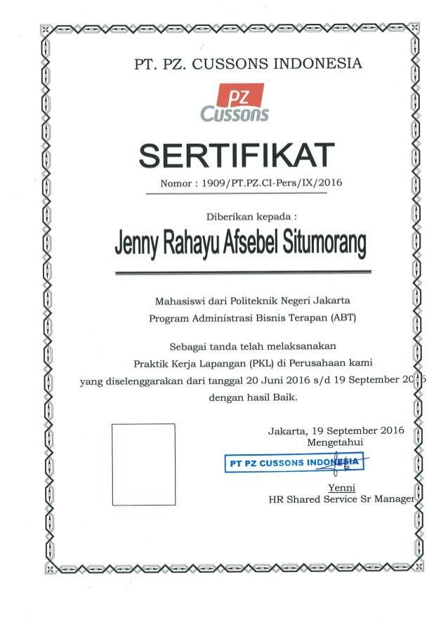 jen sertifikat