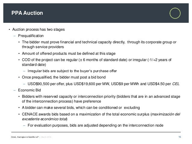 Ppa Auctions And The New Mexican Power Market