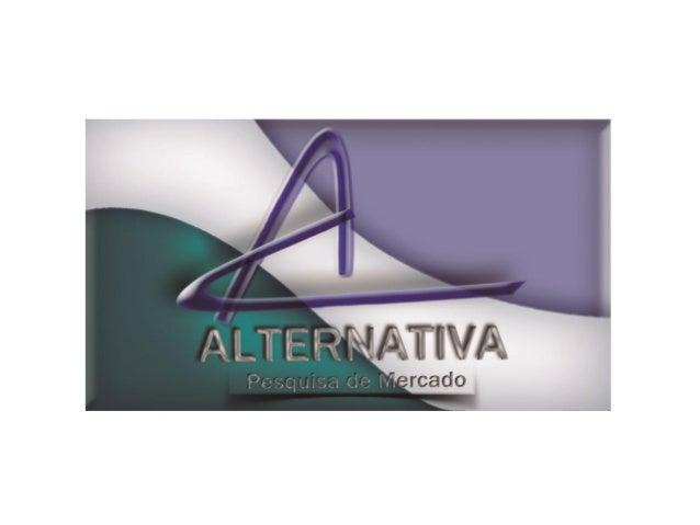 Um pouquinho de história... A Alternativa surgiu com o intuito de fornecer ao mercado de pesquisas o subsídio necessário p...