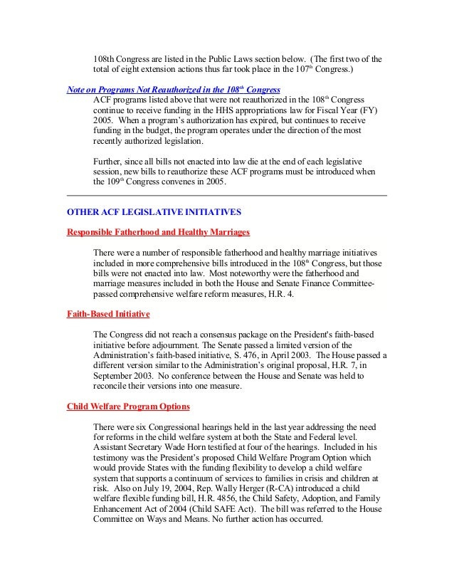 December 17 2004 olab wrap up report template 4 108th congress pronofoot35fo Gallery