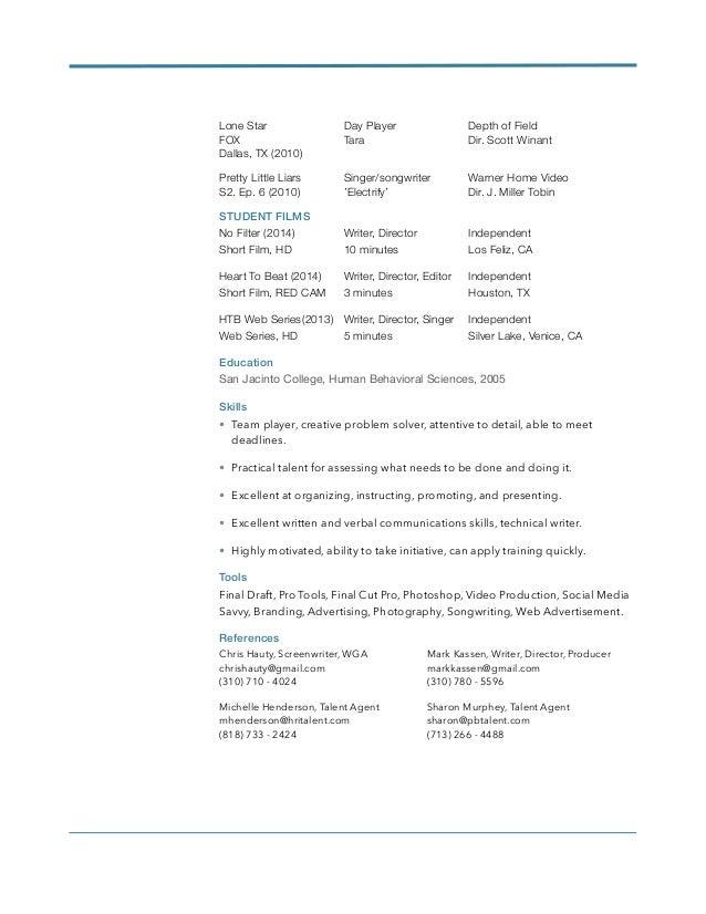 jennifer guhlin screen resume
