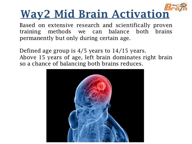 About us We specialize in the study of Mid Brain, its applications and development to evaluate and design programs that ca...