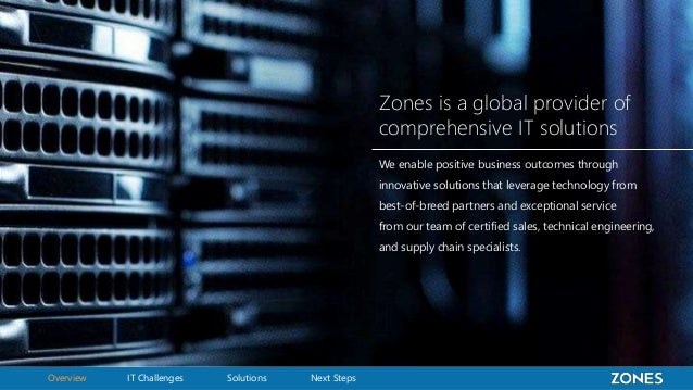 Zones Corporate Value Slide 3