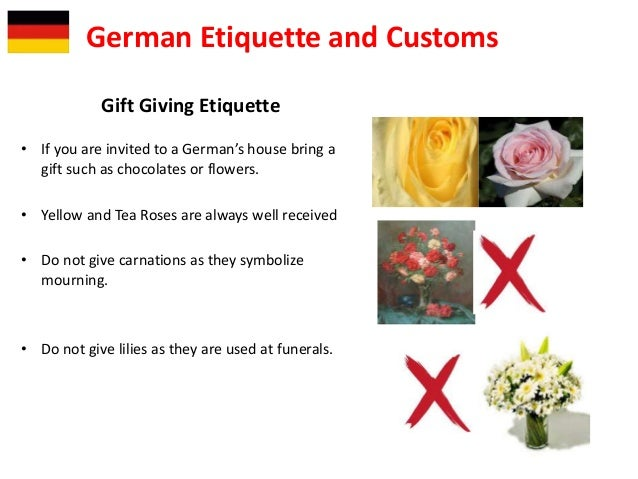 Germany german society and culture 7 gift giving etiquette m4hsunfo