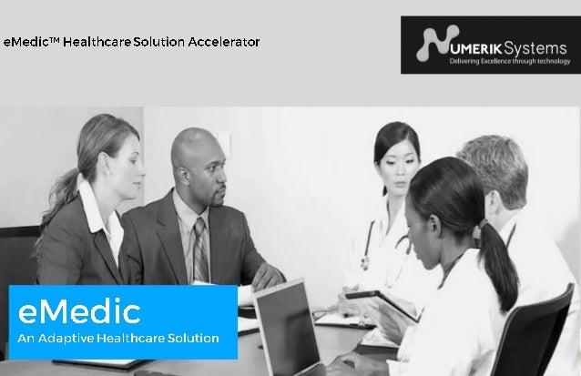 s eMedic : C'est réellement quoi eMedic est un système électronique de suivi de malades pour les cliniques, hôpitaux et au...