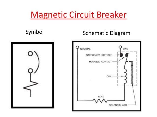 schematic symbol circuit breakers circuit breaker with magnetic rh regalton co E Stop Schematic Symbol Fuse Schematic Symbol