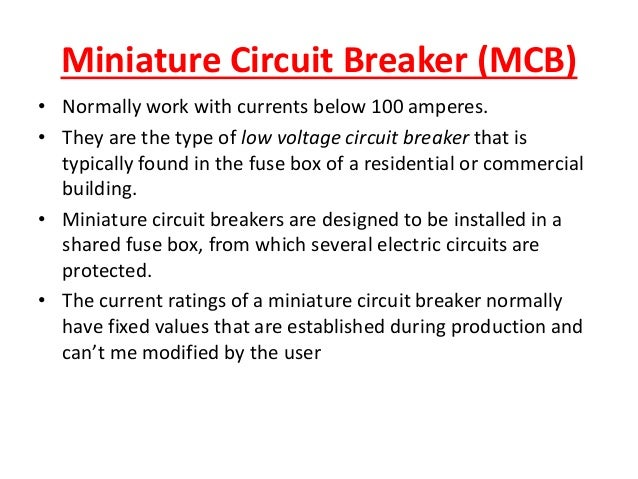 low voltage circuit breaker miniature circuit breaker mcb