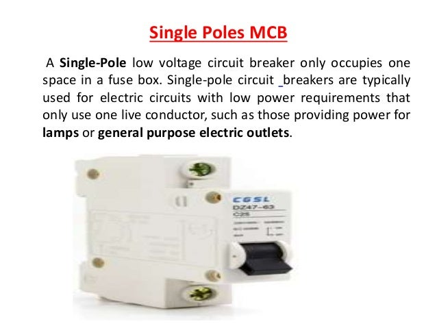 low voltage circuit breaker 16