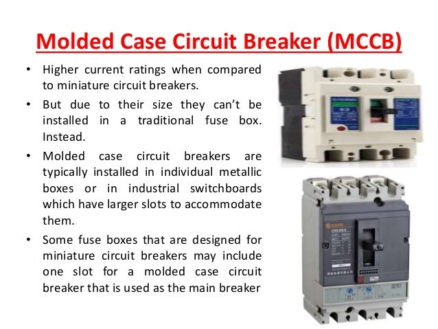 low voltage circuit breaker 19