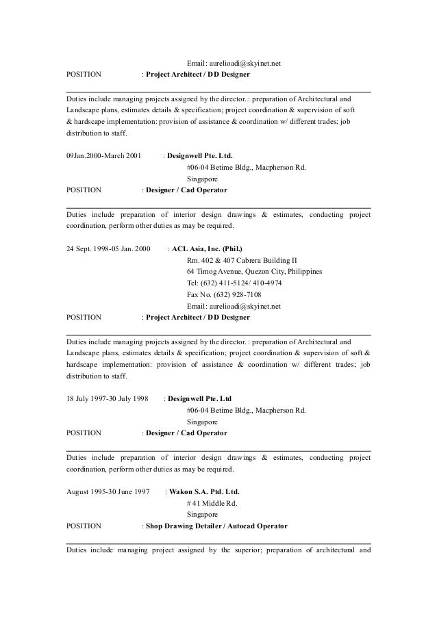 resume 2015 latest updated