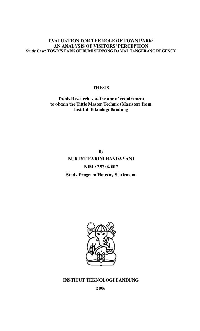 thesis sbm itb