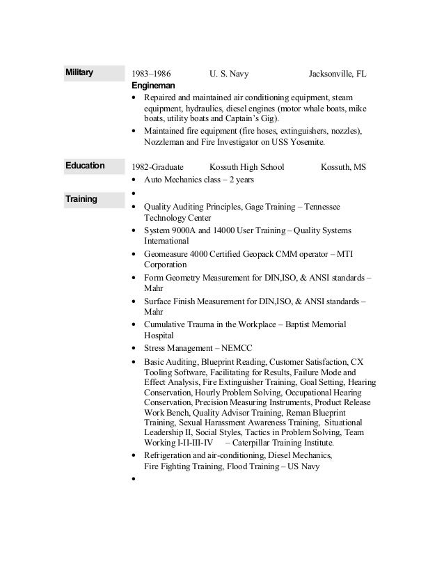 Mike Resume 1