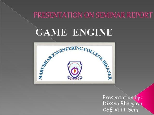 Presentation by: Diksha Bhargava CSE VIII Sem