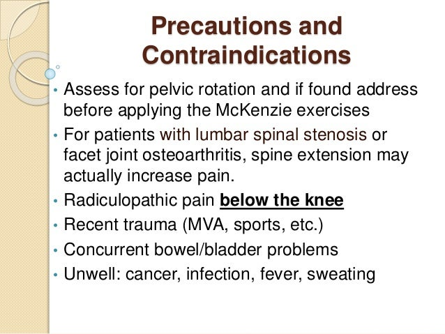 Osteoarthritis of the spine exercises