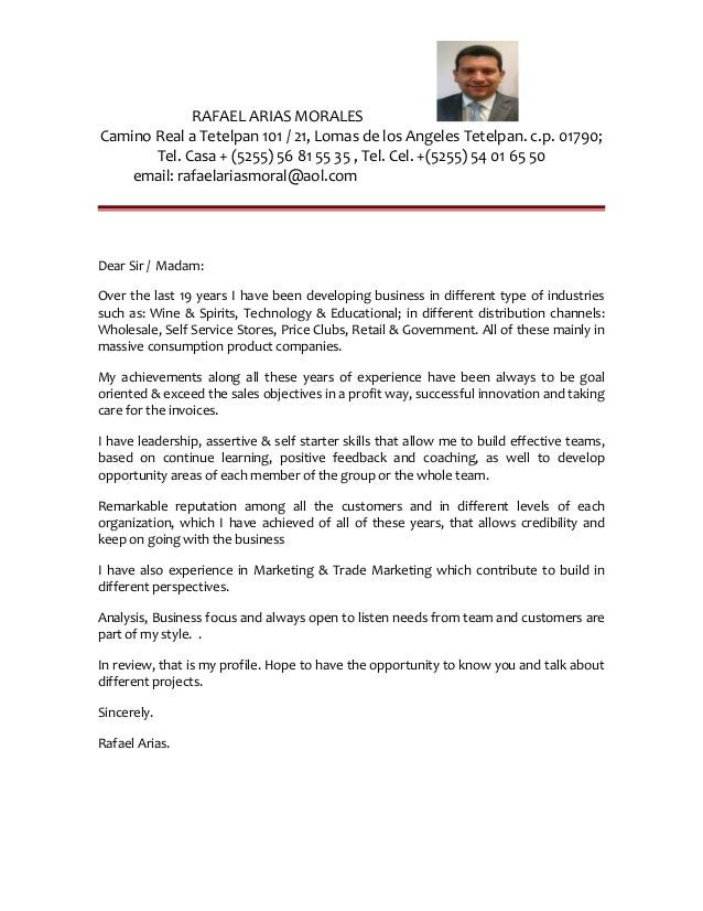 Cover Letter English Espanol 180 16
