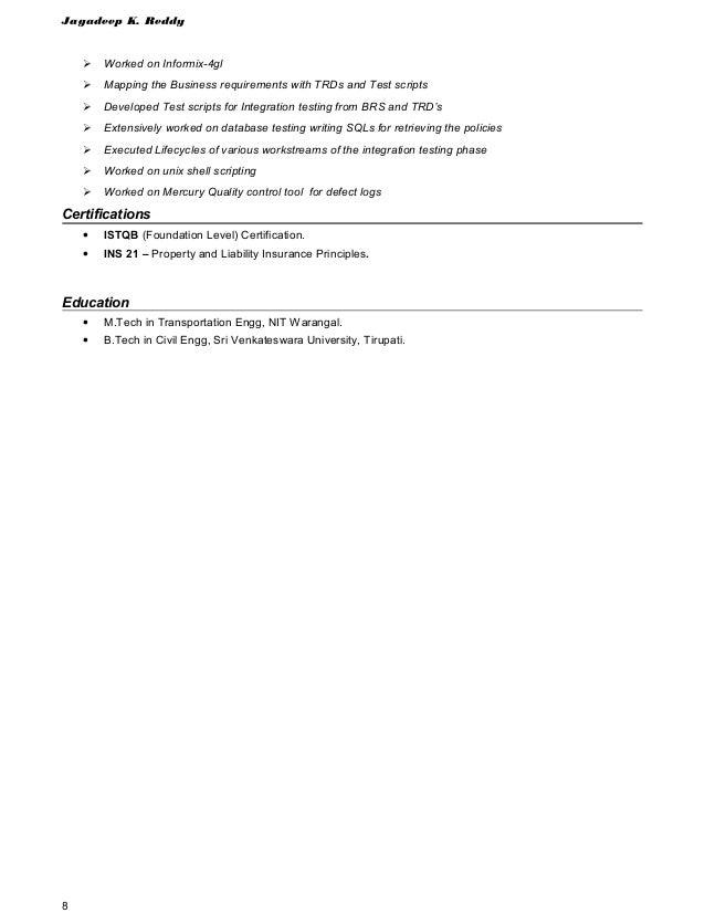 Jagadeep Reddyguidewire Policy Center Testingc