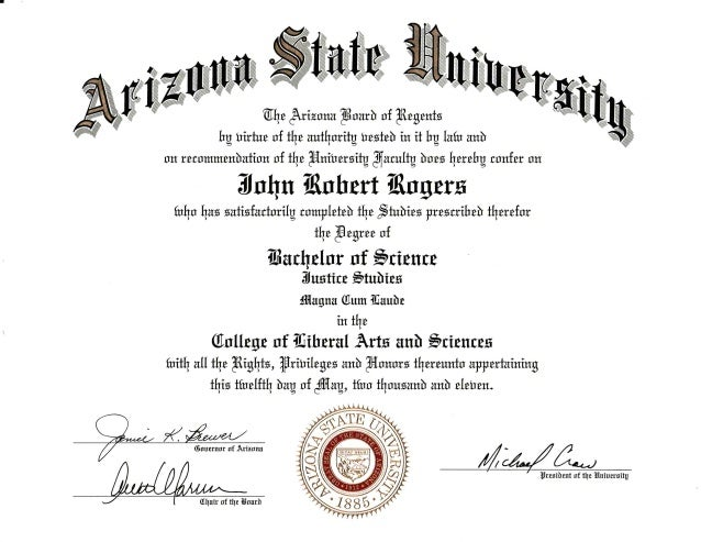 Asu Degree