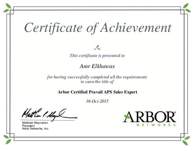 Arbor-Pravail-APS-Sales-Certificate_amr.elkhawas