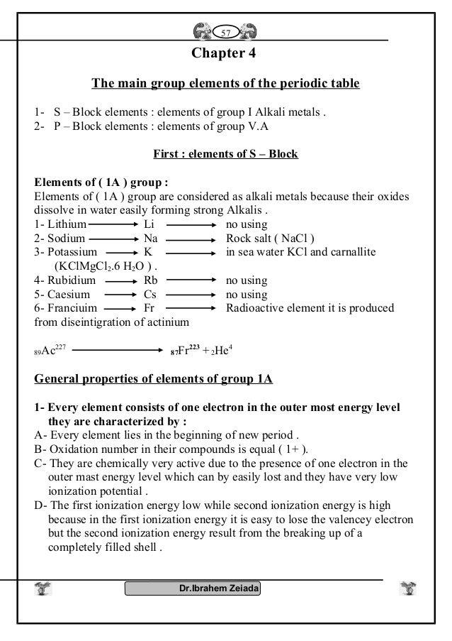 Group V Elements
