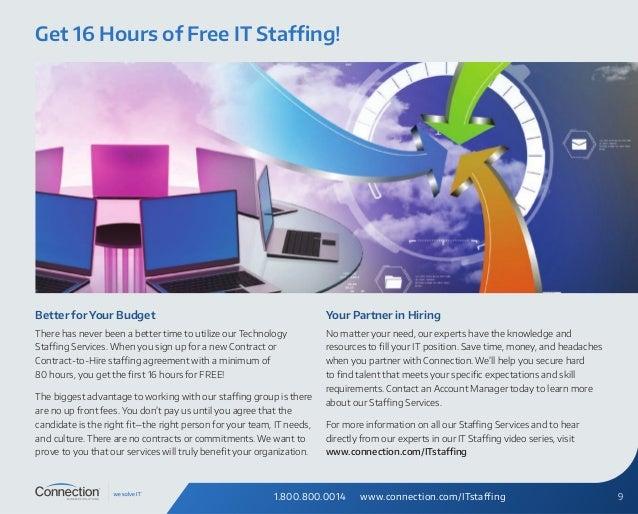 It Staffing Brochure