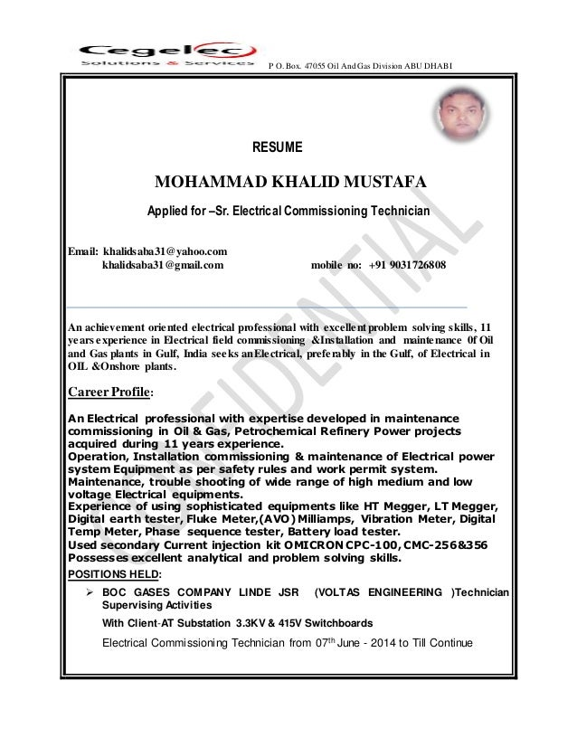 Elechtrical Commissioning Technician 2201622