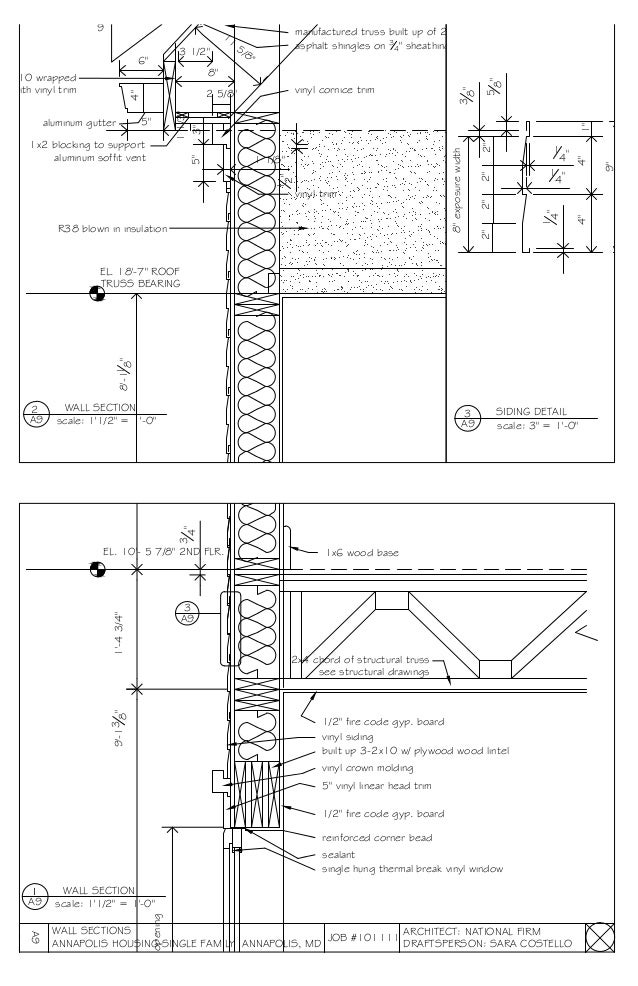 senior architectural draftsperson