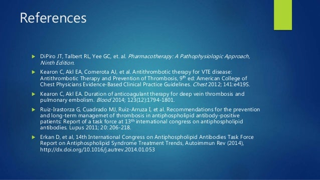 antithrombotic therapy and prevention of thrombosis 9th ed pdf