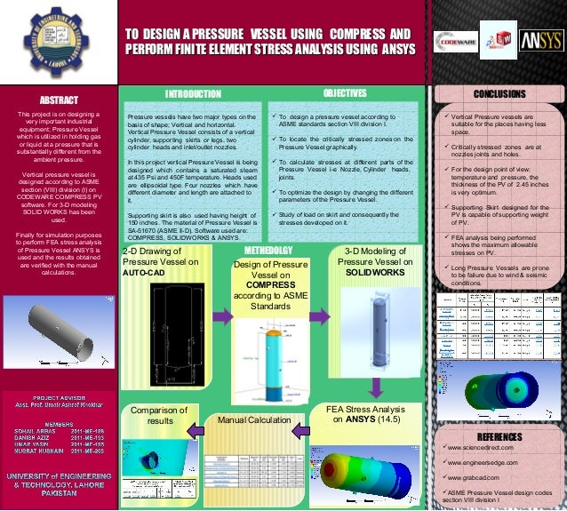 final year project poster