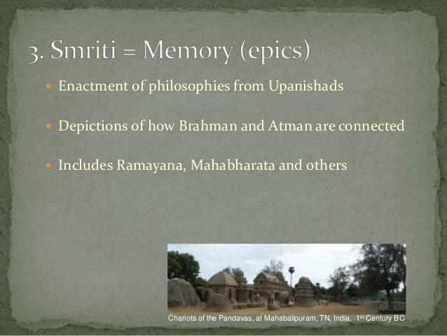 relationship between atman brahman upanishads text